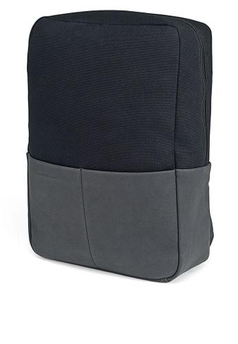 Kapten & Son black Stockholm All Black backpack 0457EAC46D39AFGS_1