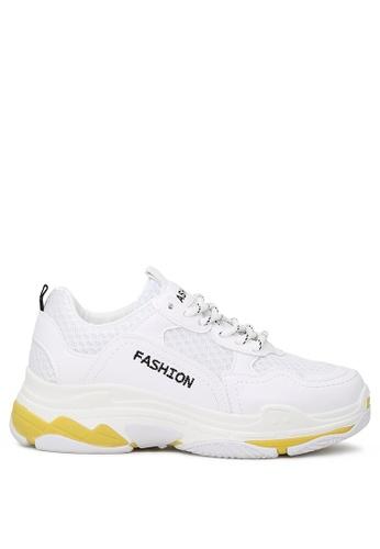 London Rag 白色 女士运动鞋 9C62DSHB7E39BDGS_1