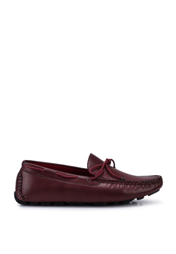 Louis Cuppers red Casual Loafers A4072SHA7B9543GS_1