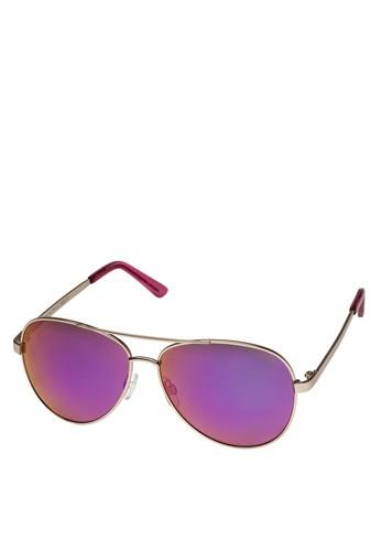 反光鏡片太陽眼鏡, 飾品配件,zalora開箱 飾品配件