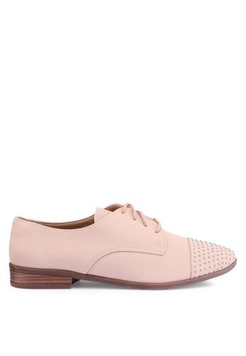 Anacapri 米褐色 Jazz 牛津鞋 DEA87SHB5D788CGS_1