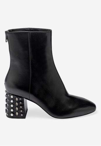 ASH black Hyde - Black Rivets embroidery Ankle Boots 1ECC3SH846022EGS_1