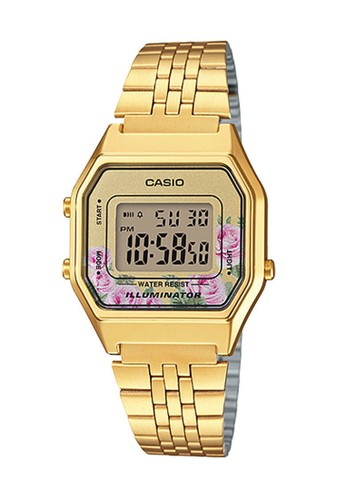 Casio gold Casio Jam Tangan - Gold - Stainless Steel - LA680WGA-9C 4D6BDAC1BEEF12GS_1