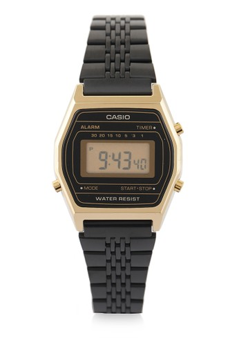 Casio black Unisex Digital Watches La690Wgb-1Df 6ABFAAC44AB6DAGS_1