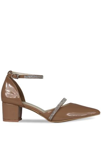 CLAYMORE brown Claymore Mid Low Heels  MZ - 1725 - Moca CL635SH0ULRHID_1
