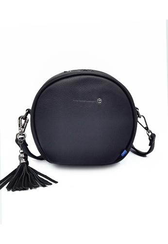 EXTREME black Extreme Genuine Leather Circle Bag 8388BAC96BBFFEGS_1