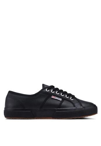 Superga black Cot3Strapu Sneakers 9E6DBSHC7B9C79GS_1