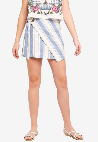 Free People blue Skirt Tuscan Sunrise Skirt D742AAA5652E40GS_1