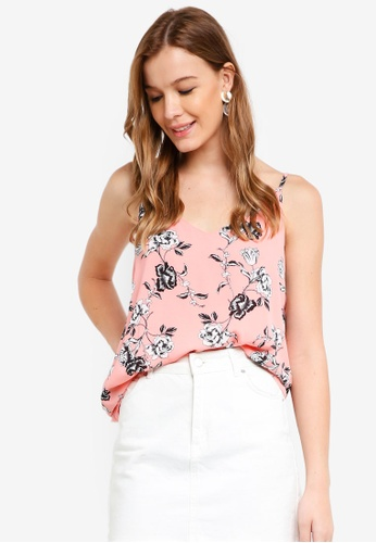 Cotton On pink Astrid Cami Top 1FB02AAB7E39BBGS_1