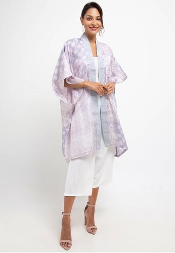 bhatara batik white and grey Prisha Set E01E9AADFF92DDGS_1