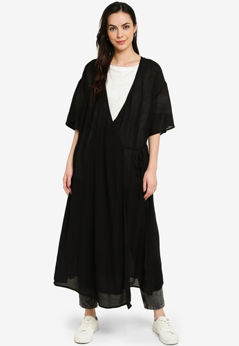 niko and ... black Longline Cardigan 7AFF4AA8F0DA52GS_1