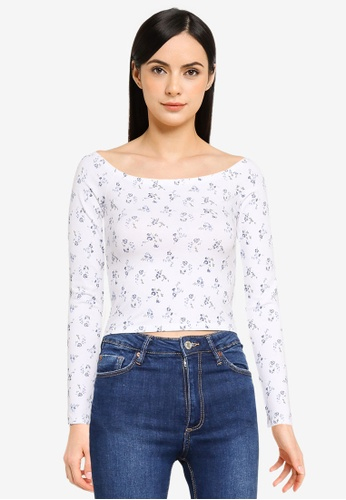 Hollister white Boat Chase Top C14B9AA403F37CGS_1