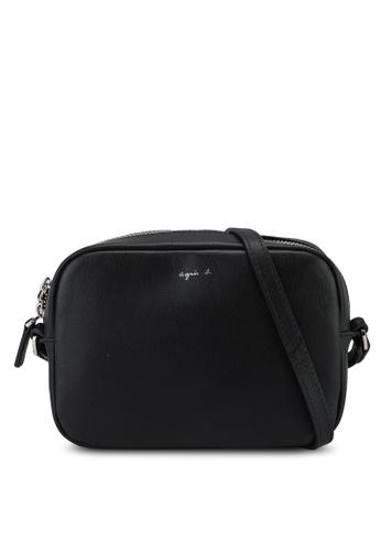 agnès b. black Shoulder Sling Bag FB28AAC1042EC5GS_1