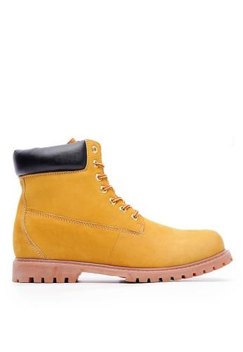 Life8 brown Classical Nubuck Boots-09711-Brown LI283SH0HCFWSG_1