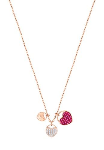 quality design 5c546 f89ee Buy Swarovski Ginger Heart Pendant Necklace Online on ZALORA