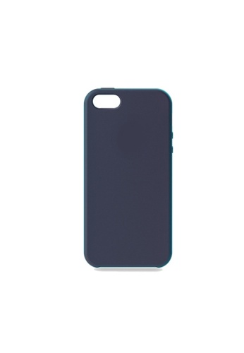 MobileHub navy iPhone 5 / 5s / SE Silicone Cover Soft Case Rubberized Finish (Navy Blue) 95718AC8F04BE9GS_1