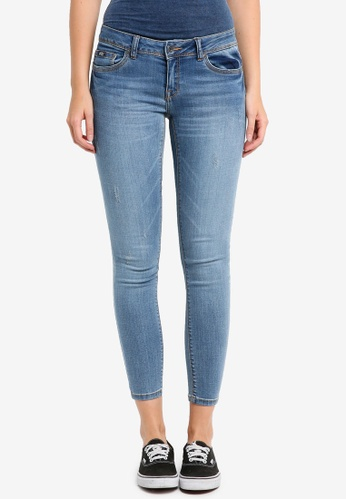 Superdry blue Cassie Skinny Jeans SU137AA0T227MY_1