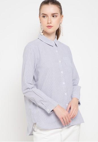 GEELA blue Melody Shirt 565BAAAF88F12CGS_1