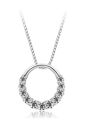 Vivere Rosse silver Olivia Necklace VI014AC08HPZMY_1