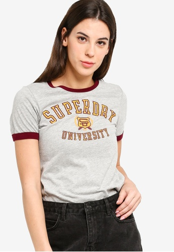 SUPERDRY grey Sd University Entry Tee 70FF9AA8D20149GS_1