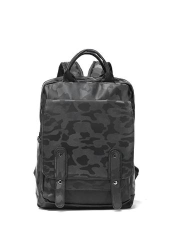 Lara multi Men's Camo Front Flap Backpack 6A0A2ACA9FB35FGS_1