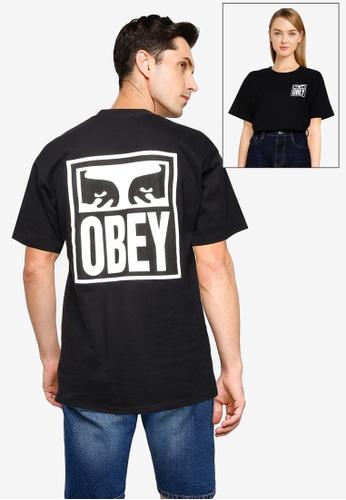 OBEY 黑色 Obey Eyes Icon 2 T-Shirt F6A7CAAF2669ADGS_1