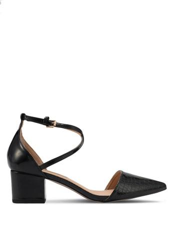 Miss KG black Black Mid Heel Court Shoes MI302SH0SNXSMY_1