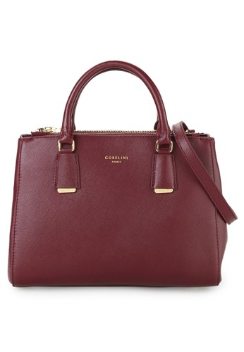 Gobelini Coco Double Zipped Satchel