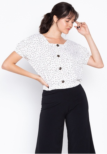 ad9330741f82a4 Shop F.101 Square Neck Crop Top Online on ZALORA Philippines