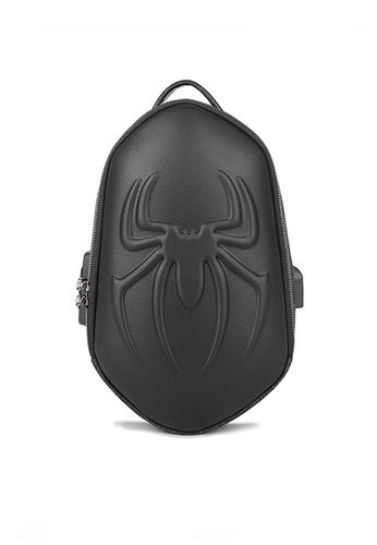 Twenty Eight Shoes black VANSA Chic Hard Shell Chest Bag VBM-Mb3412 81F64AC026A48EGS_1