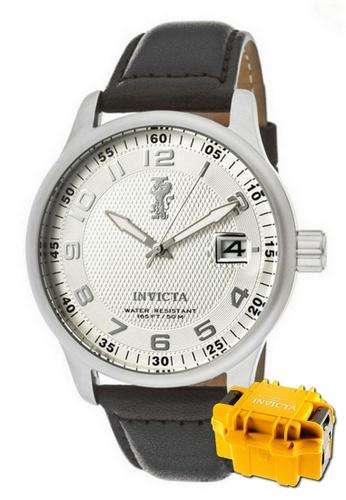 INVICTA silver Invicta I-Force Men 44mm Quartz Military Field Watch 12823 w/ Impact Case 5EA0AACEFF413CGS_1