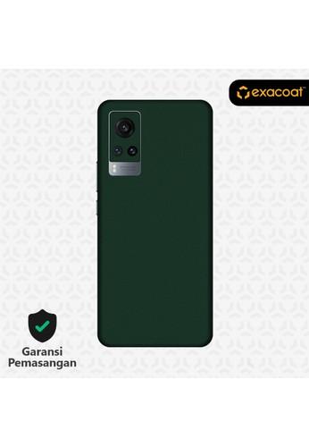 Exacoat Vivo X60 / X60 Pro Skins True Colors - Emerald Green 0099BESBB68426GS_1