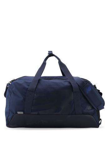 New Balance navy Team Oversize Holdall Small Bag 2CD2BACF2FBA94GS_1