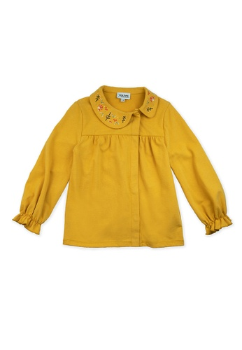 Vauva yellow Vauva Girls Fantasy Forest Casual Top - Yellow 4EE80KADC84EA5GS_1