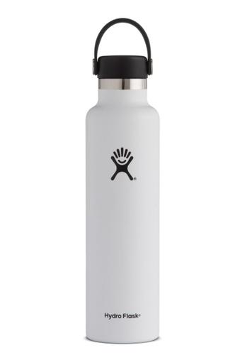 Hydro Flask white Hydroflask Standard Mouth W/Standard Flex White 24Oz 0C9B2AC5E8DFF0GS_1