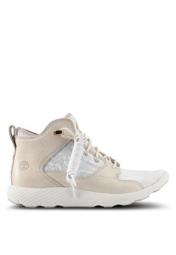Timberland grey FlyRoam Leather Hiker Boots 75260SH46D8262GS_1
