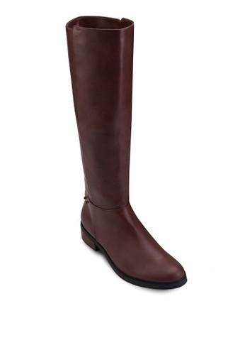 及膝高筒esprit 請人皮靴, 女鞋, 靴子