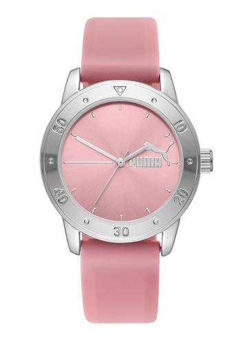PUMA pink Puma 6 Watch P6029 CB717AC55AEC3CGS_1