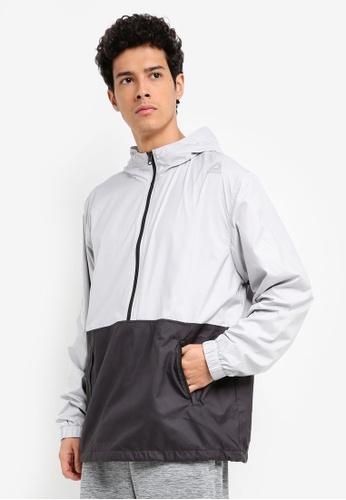 Reebok black and grey Les Mills Jacket RE691AA0SVXTMY_1