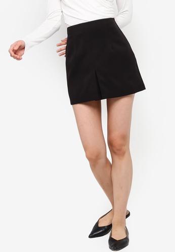 c1c289ab2 Buy ZALORA BASICS Basic Pleat Front Mini Skirt Online | ZALORA Malaysia