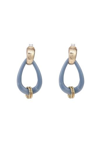 niko and ... blue Teardrop Dangle Earrings 2909BACD2ABC2BGS_1