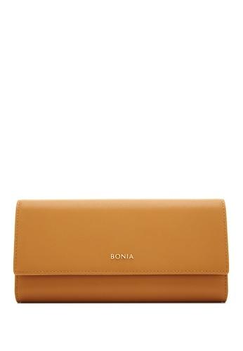 BONIA brown Choccy Bikki Long 3 Fold 093D7AC61D3FCCGS_1