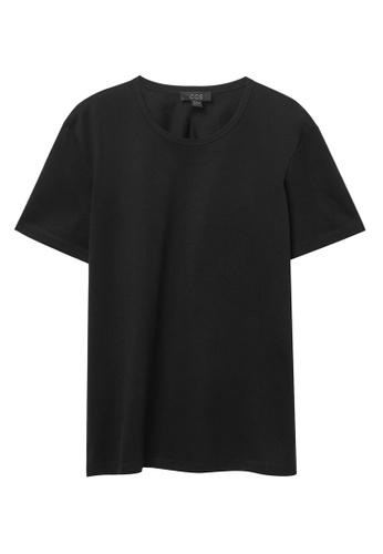 COS black Regular-Fit T-Shirt E4017AA09E5606GS_1