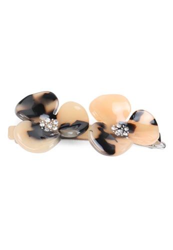 Kings Collection pink Korean Petal Hair Clip (HA20248) 82690AC07962B8GS_1