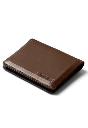 Bellroy brown Bellroy Slim Sleeve Wallet (Premium Edition) - Darkwood F11ACAC29F583CGS_1