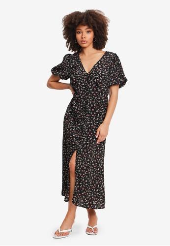 Sável black Pia Dress 068CBAAA1CBD77GS_1