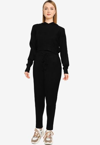 Brave Soul black Two Piece Knitted Set 6E3D1AA3770F35GS_1