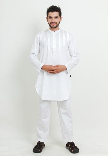 NextUp white Setelan Pakistan 1218 Bordir - Putih 740B6AA5EB83EEGS_1