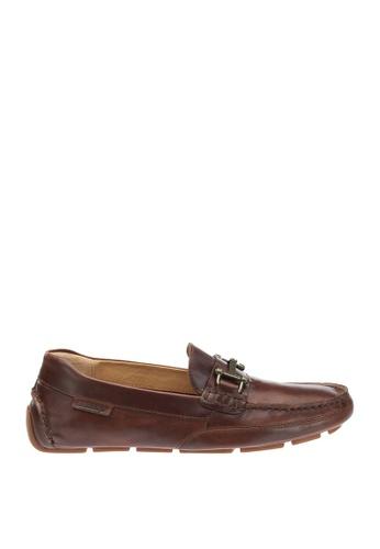 Sebago brown Kedge Bit Driving Shoes 51541SH2F716A8GS_1