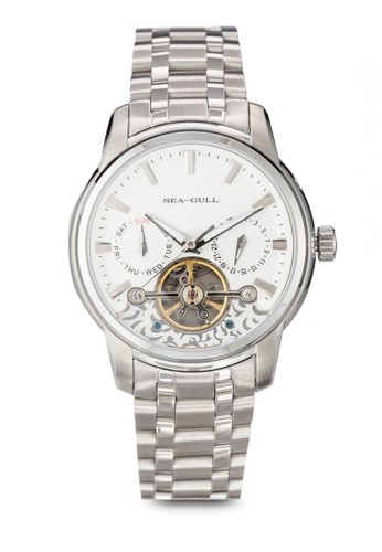 816.410 ST2579 41mm 不銹鋼機zalora taiwan 時尚購物網械鍊錶, 錶類, 飾品配件